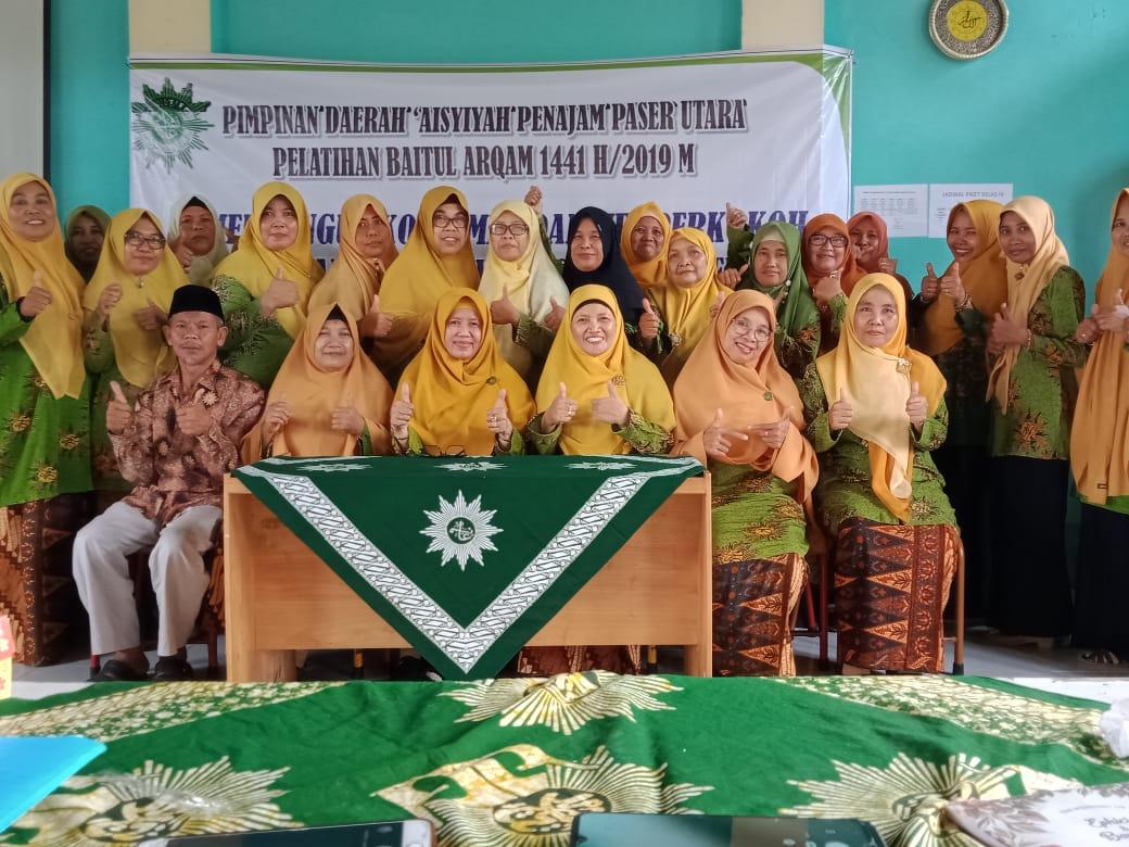 "Baitul Arqam PDA Panajam Paser Utara Kalimantan Timur, Sabtu-Ahad 9- 10 November 2019. "" ""Membangun Komitmen dan Memperkokoh Persyarikatan Menuju Amal Usaha Berkemajuan."""